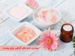 بهترین کرم های گیاهی برای پوست | مجله پوست و مو